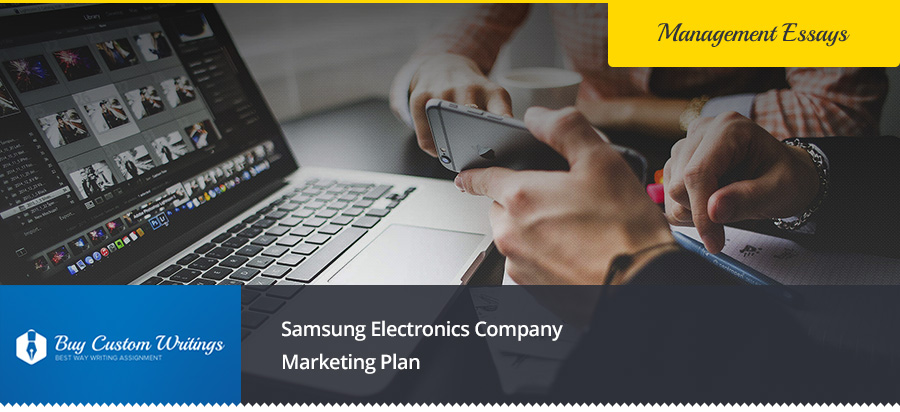 Samsung Electronics Company Marketing Plan